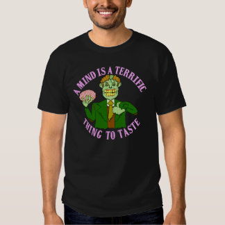 Funny Zombie Professor Proverb Tees