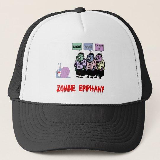 Funny zombie trucker hat
