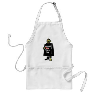 Funny Zombie, Zombie Were People Too Apron