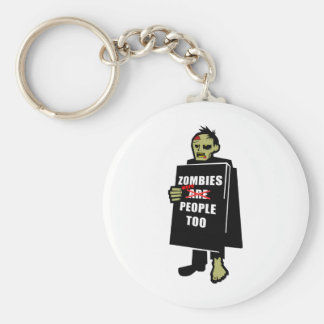 Funny Zombie, Zombie Were People Too Key Chains