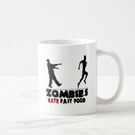 Funny Zombies Fast Food Coffee Mug