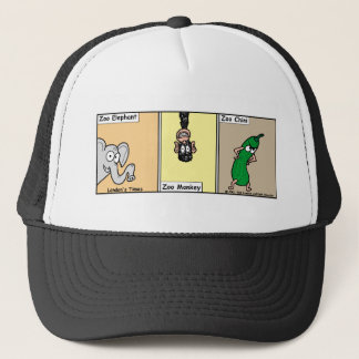 Funny Zoo/Animal Cartoon Gifts & Collectibles Trucker Hat