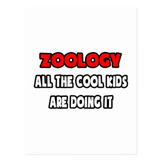 Funny Zoologist Shirts and Gifts Postcards