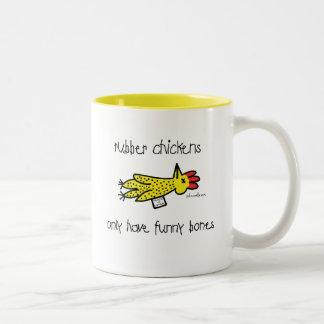 funnybones Two-Tone coffee mug