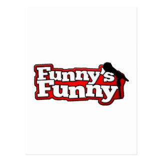 Funny's Funny Logo Stuff Postcard