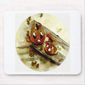 FunnySunFaces, regalos de Halloween Mousepad Tapetes De Raton