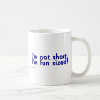 funsized.jpg classic white coffee mug