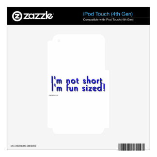funsized.jpg decal for iPod touch 4G