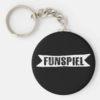 Funspiel Curling Tournament for Fun Keychain