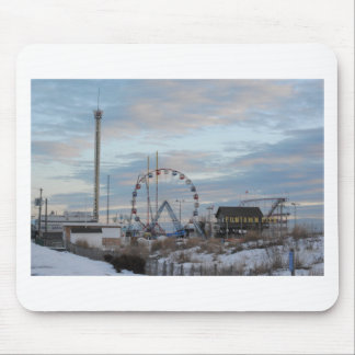 Funtown Pier Seaside Heights Mouse Pad