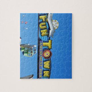 Funtown Pier Seaside Heights New Jersey Shore Jigsaw Puzzles