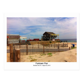'Funtown Pier' Seaside Park, NJ Postcard