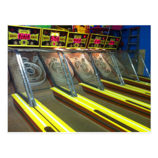 Funtown Pier Seaside Skee Ball Postcard
