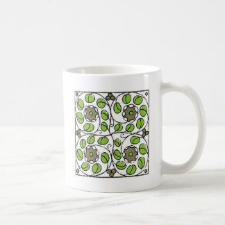 funu vines art deco coffee mug