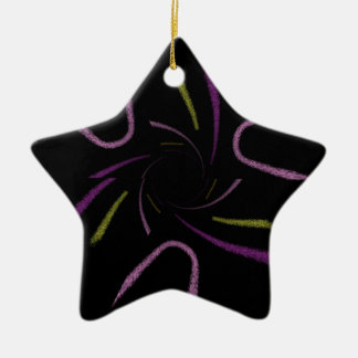FunWith Chalk Ceramic Ornament