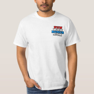 FunWithBonus.com Front Pocket #pinball - Two Sided Shirt