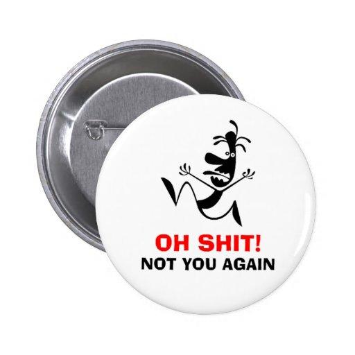 Funy buton. pin redondo 5 cm
