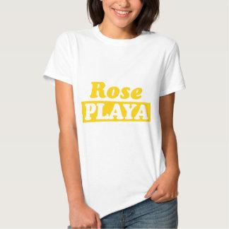 Funy Rose Playa Golden T Shirts