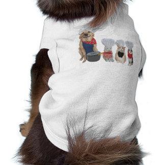 Fur Baby Cooking Show Pet Tee Shirt