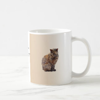 Fur Coat Cat Coffee Mug