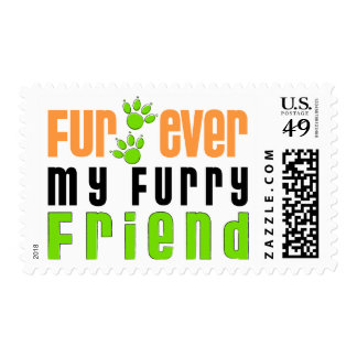 Fur Ever My Furry Friend Postage