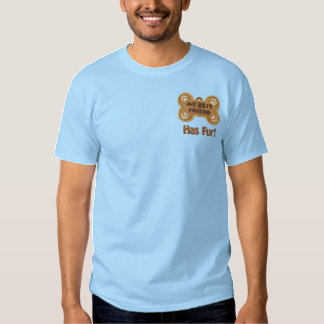 Fur Friend Embroidered T-Shirt
