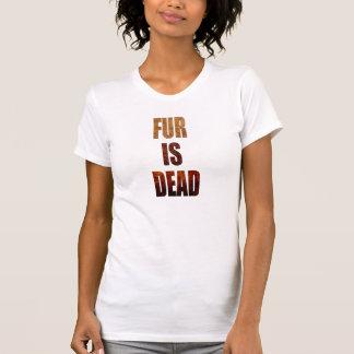 Fur is dead t shirts