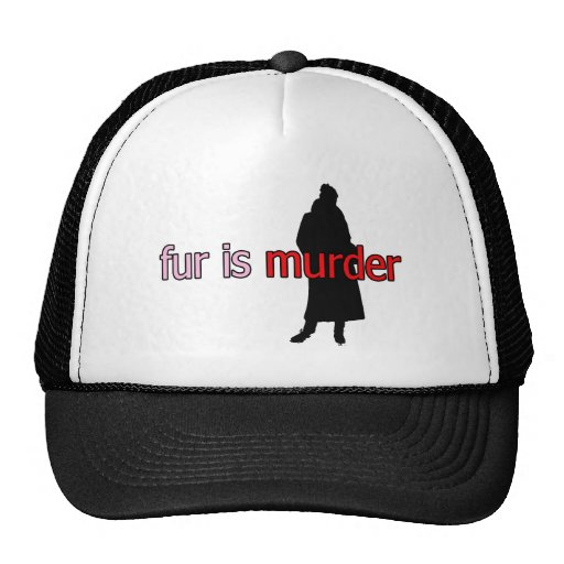 Fur is Murder Mesh Hat