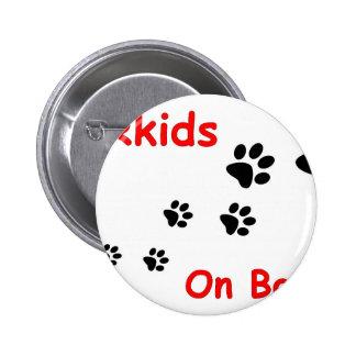 Fur_kids_on_board.jpg 2 Inch Round Button