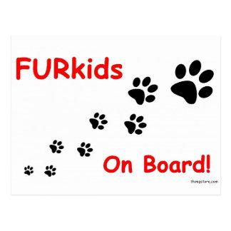 Fur_kids_on_board.jpg Postcard