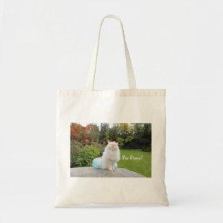 Fur Peace Tote Bag