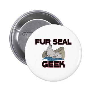 Fur Seal Geek Pins
