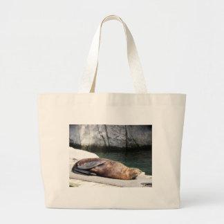 Fur Seal Large Tote Bag