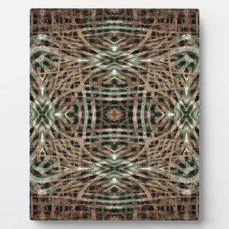 Fur Texture Abstract Pattern Plaque