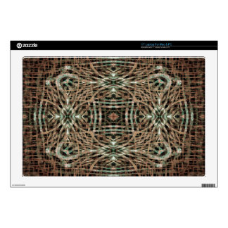 "Fur Texture Abstract Pattern 17"" Laptop Decal"