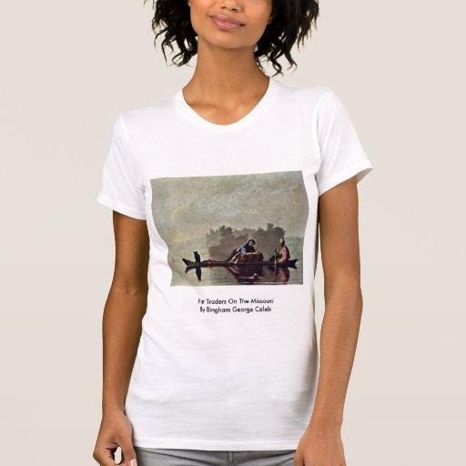 Fur Traders On The Missouri Tshirt