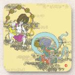 thunder wind japan japanese thunderbolt arabesque pattern foliage scrolls illustration 唐草 風 日本 和風 イラスト 空 sky pop arts ポップ