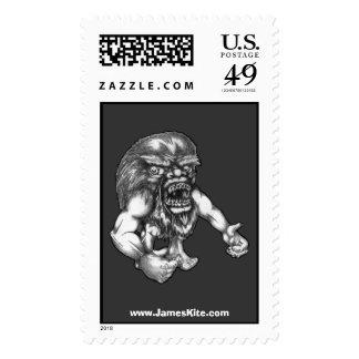 Furball extraño sellos