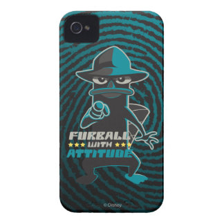 Furball With Attitude Case-Mate iPhone 4 Case