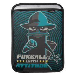 iPad Sleeve with Agent P - Furball with Attitude by Phineas and Ferb design