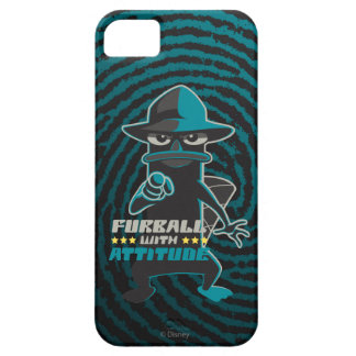 Furball With Attitude iPhone 5 Covers