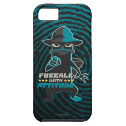 Case-Mate Vibe iPhone 5 Case with Agent P - Furball with Attitude by Phineas and Ferb design