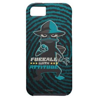 Furball With Attitude iPhone SE/5/5s Case