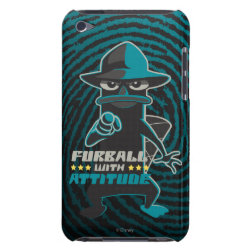 Case-Mate iPod Touch Barely There Case with Agent P - Furball with Attitude by Phineas and Ferb design