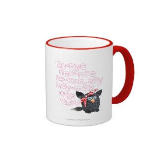 Furbish Talk Ringer Coffee Mug