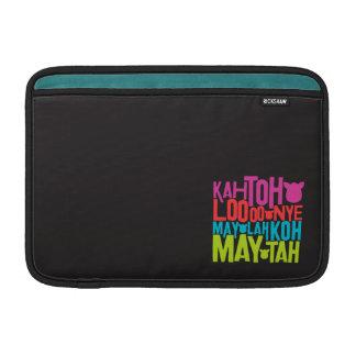 Furbish Text MacBook Sleeve