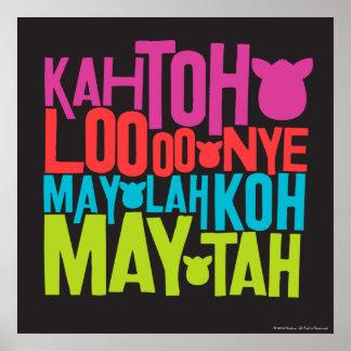 Furbish Text Poster