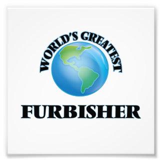 Furbisher más grande del mundo arte con fotos