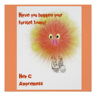 Furblet bringing Hep C Awareness Poster