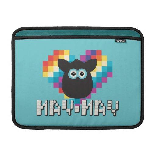 Furby a memoria de imagen: Mayo-mayo Fundas Macbook Air